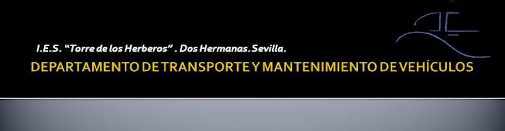 """Departamento de """"Transporte y Mantenimiento de Vehículos"""""""
