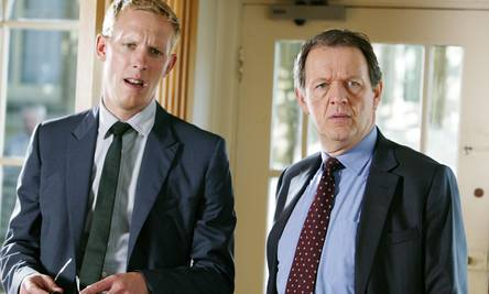 "Join me and MASTERPIECE Presents ""Inspector Lewis: Down Among the"