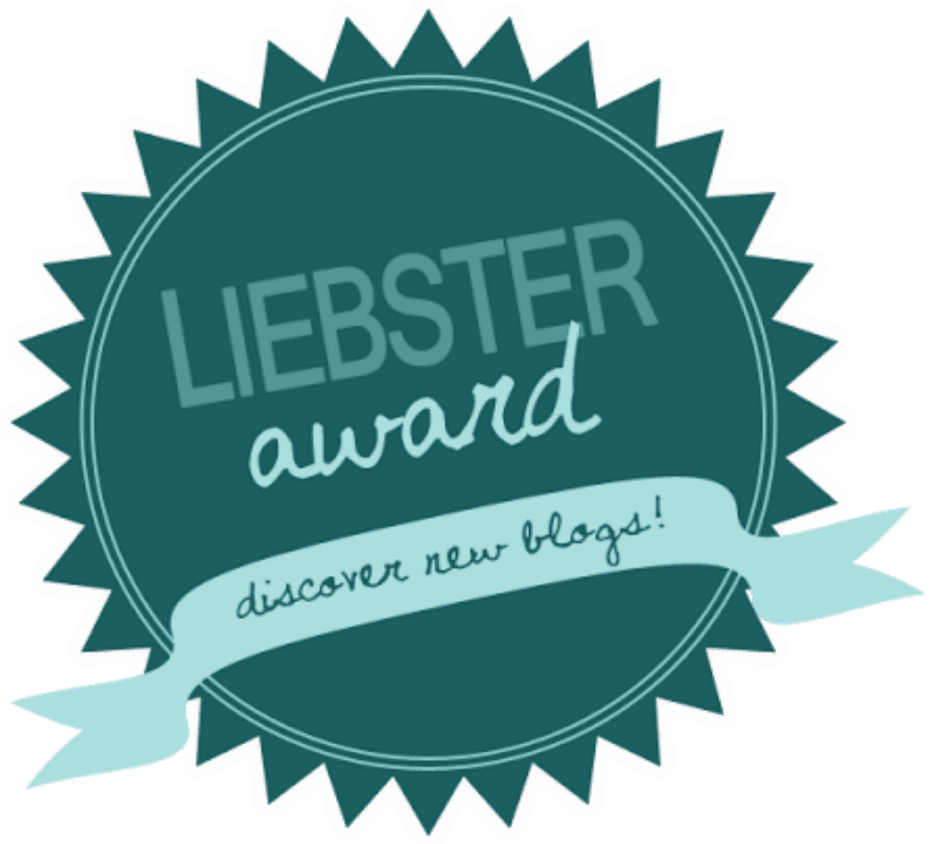 Liebster Award- I've just been nominated!!