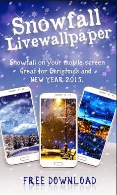 Free Download Snowfall 2015 Live Wallpaper For Android