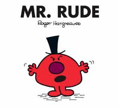 Mr Rude Mr Men Roger Hargreaves