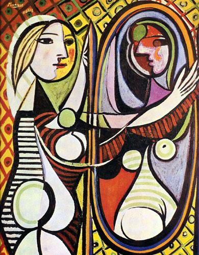 Ragazza davanti allo specchio, 1932