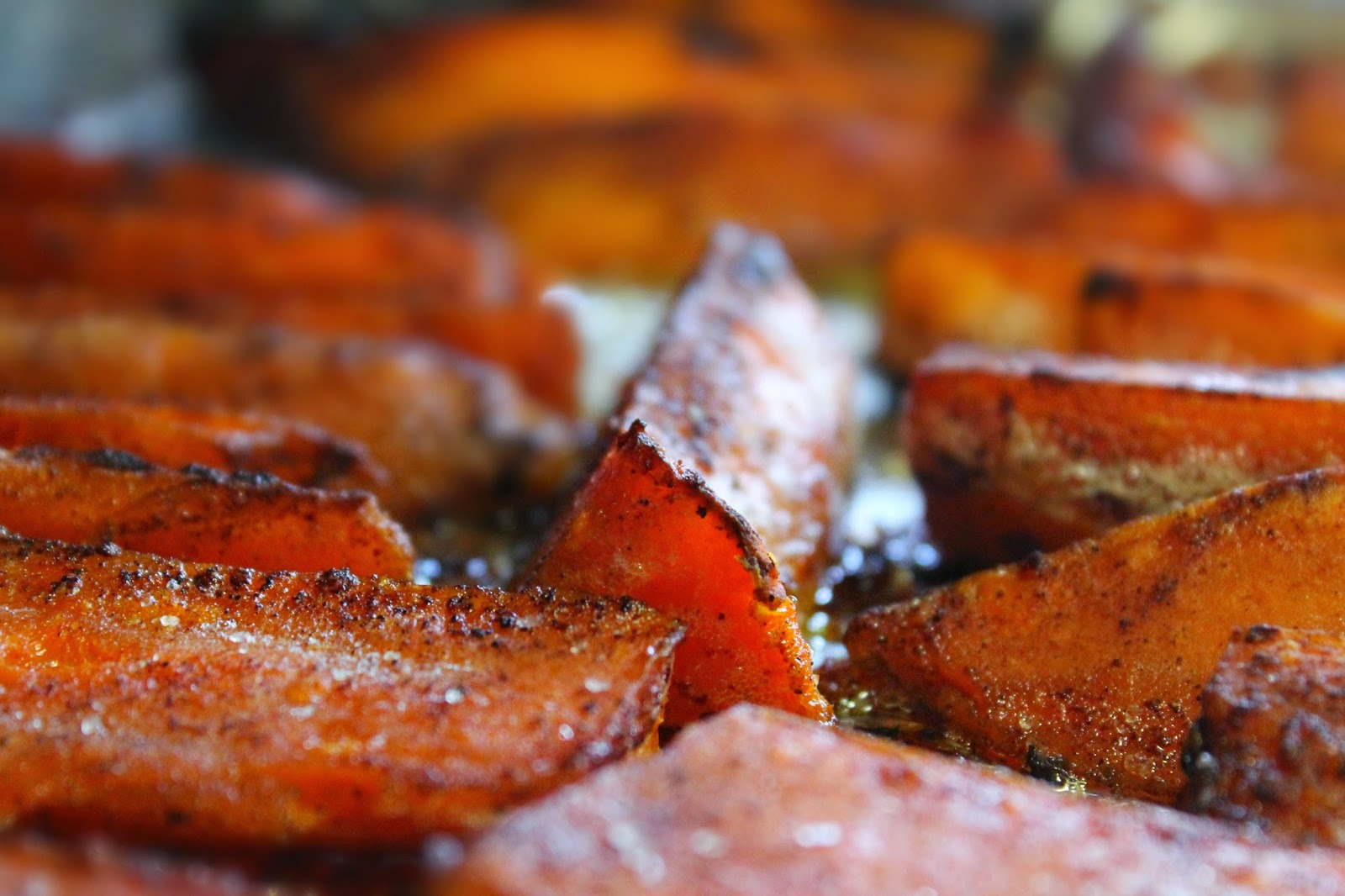 ROASTED SWEET POTATO WITH HONEY & CINNAMON GLAZE (Adapted from Food ...