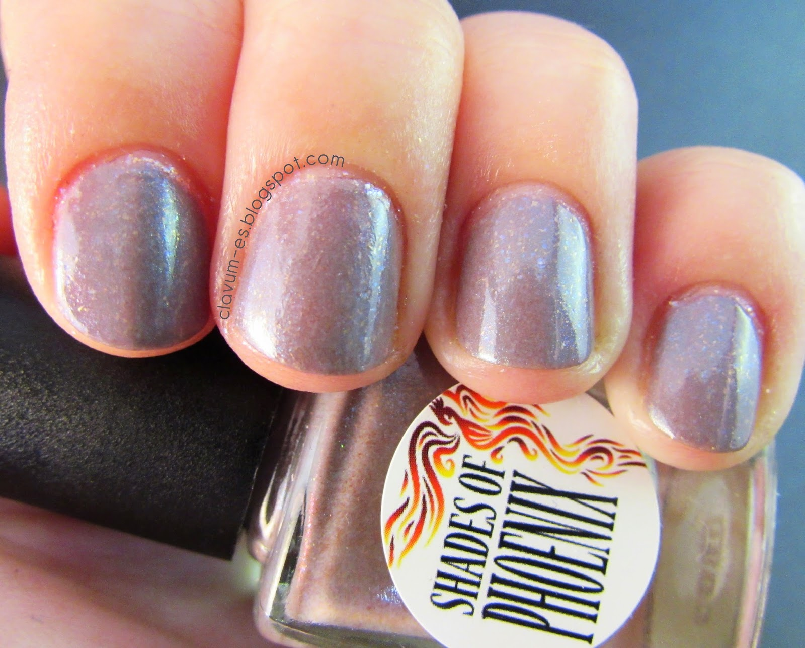 Shades of Phoenix - Earl Grey Swatch