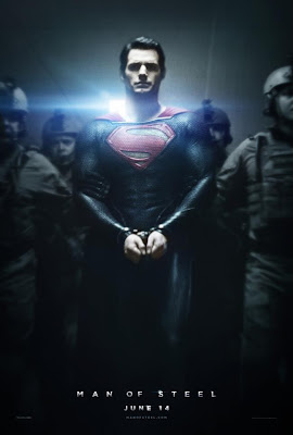 Man of Steel handcuffed