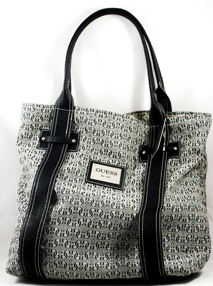 b3044233e486 My Little Aurora  Guess Logo Founders Handbag Travel Tote Bag (Pre ...