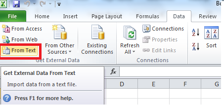 how to change go to location excel