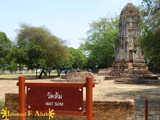 Wat Som in Ayutthaya Historical Park