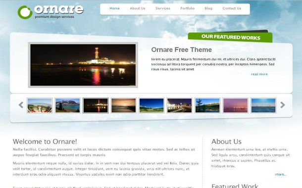 Free Travel Gallery Green CSS Website Template