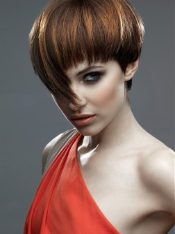 Fashion Style4girls Short Hair Style Fun Short Hair Color Ideas Pics Funky Hair Color 2012 Photos