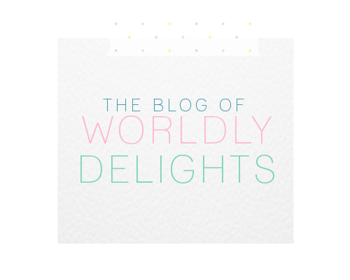 the blog of worldly delights