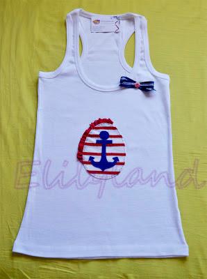 Camiseta Ancla Navy
