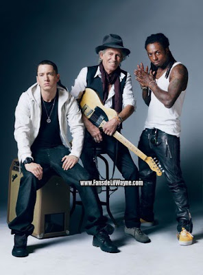 eminem keith richards y lil wayne
