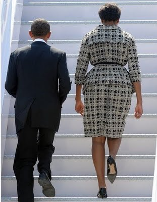 michelle obama fat stairs