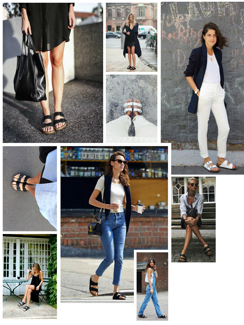 Birkenstock's by post and pin