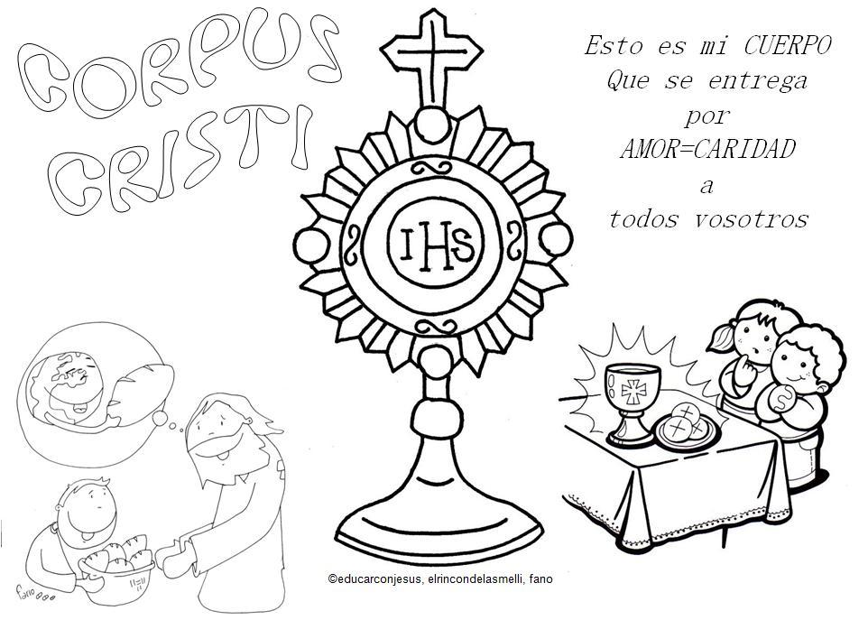 Educar con Jesús: Corpus Christi, Cuerpo de Caridad