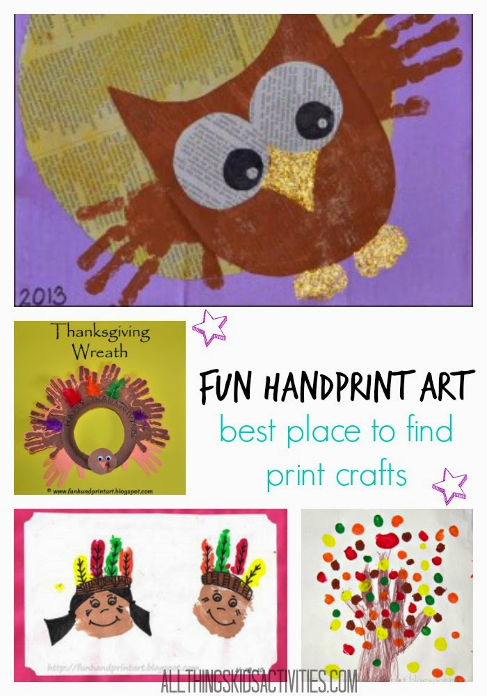 Fun Handprint Art Featured Blogger