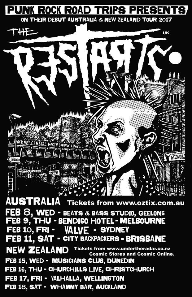 Restarts Tour 2017