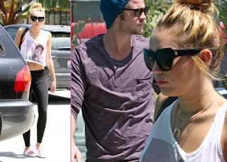 Miley Cyrus & Liam Hemsworth's Weekend Pilates Workout » Gossip | Miley Cyrus | Liam Hemsworth
