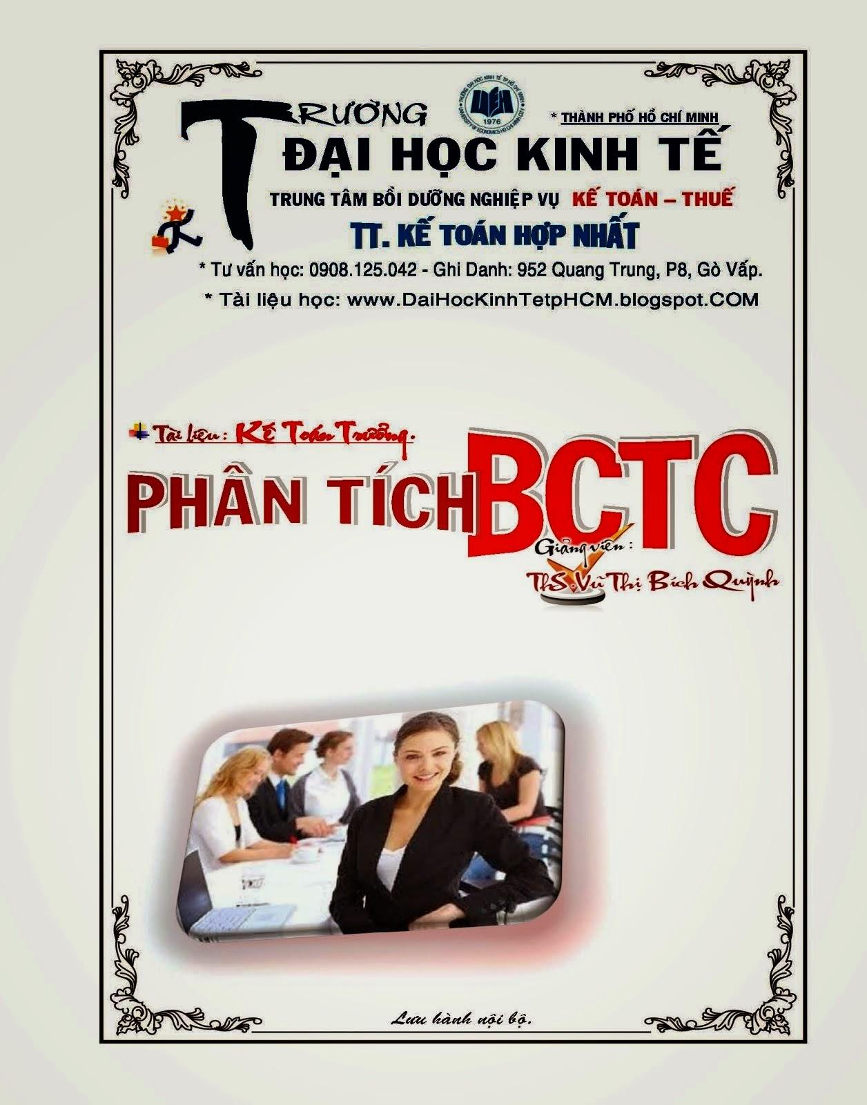 Phân Tích BTCTC