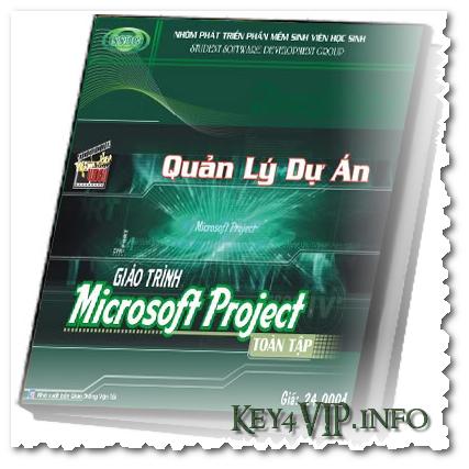 Giáo trình tiếng Việt học MS Project SSDG ( Ebook+Video),Giáo trình quản lý dự án