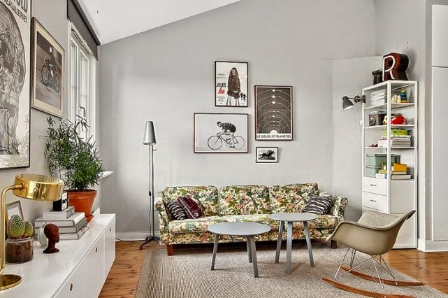 Interior] 60 m2 de loft creativo y modern vintage – Virlova Style