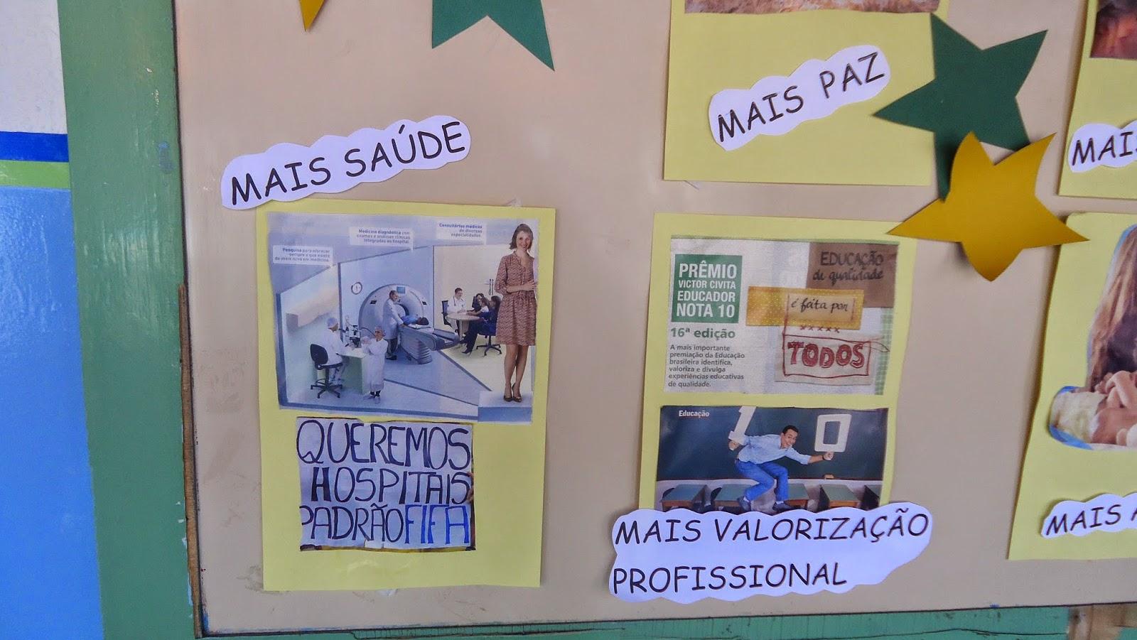 Escola estadual professor modesto 7 de setembro dia da for Mural 7 de setembro