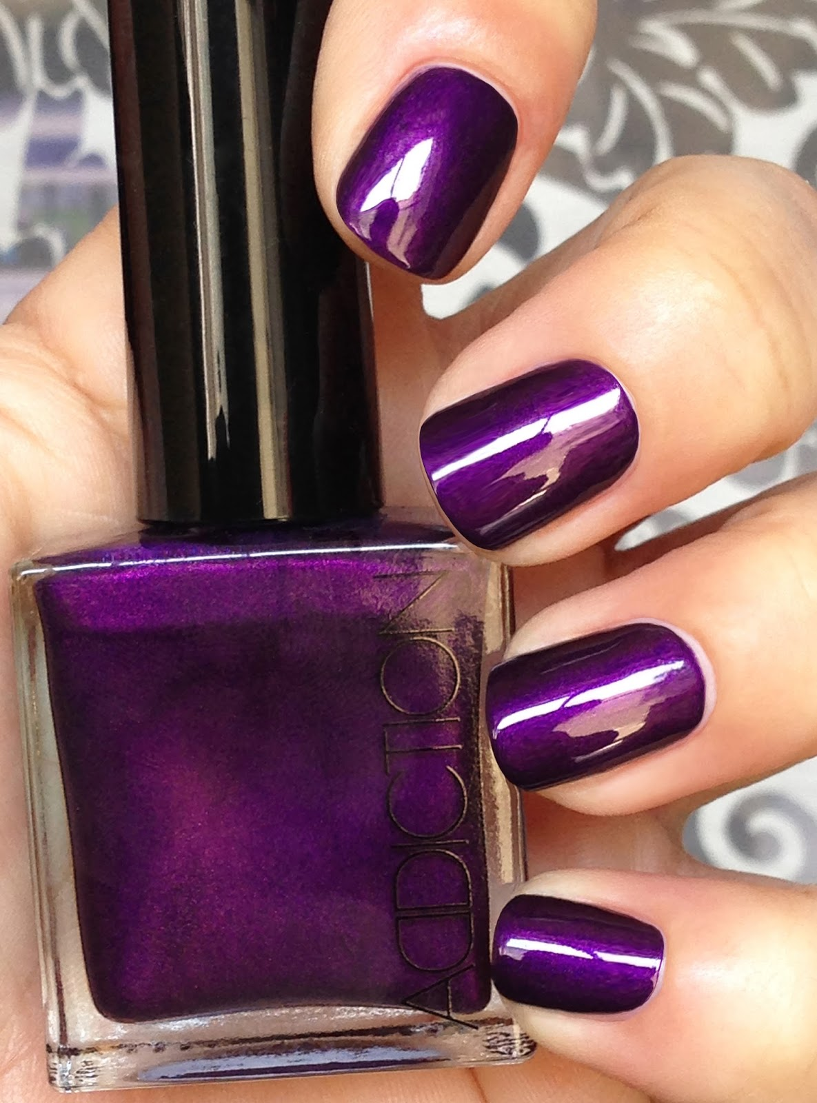So Lonely in Gorgeous: Smoke On The Polish...Addiction Deep Purple ...