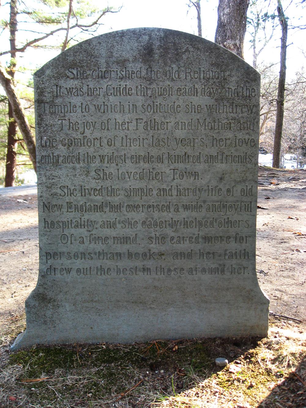 North American Cemeteries: Waldo Emerson - Sleepy Hollow