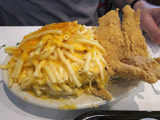 Fried Catfish & Baked Macaroni
