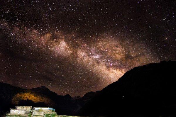 تصوير النجوم