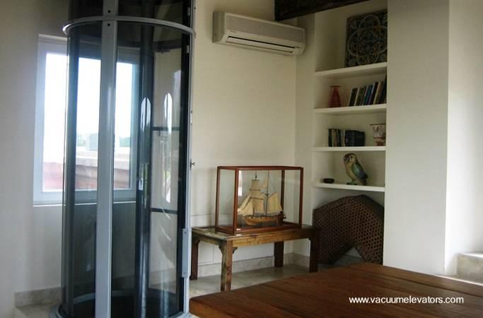 Arquitectura de casas nuevos ascensores neum ticos - Ascensores para viviendas unifamiliares ...