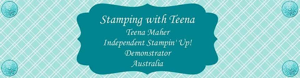 Stamping with Teena