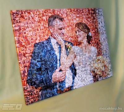 Mozaikkép.hu - esküvői fotómozaik