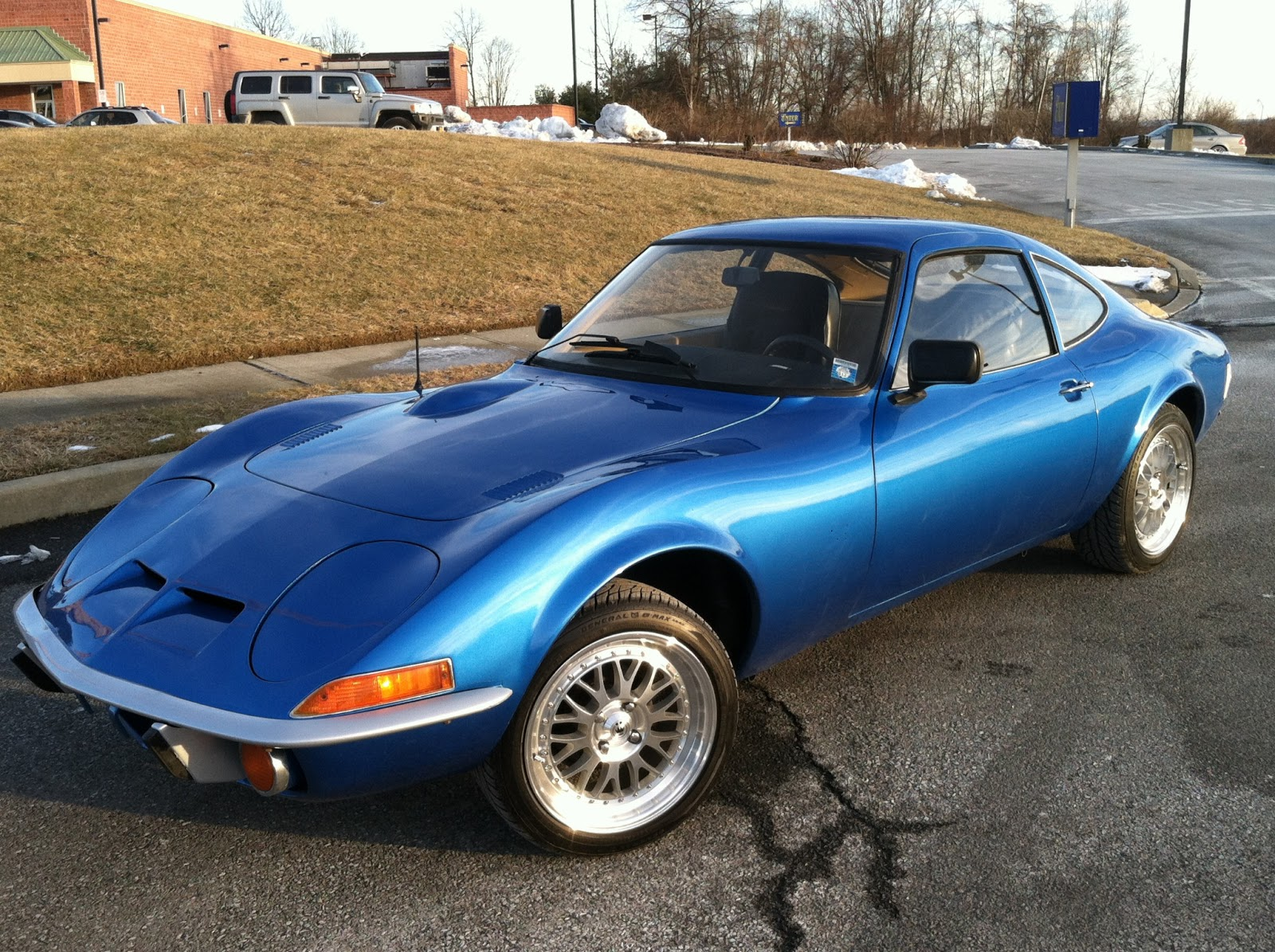daily turismo 5k flash 1970 opel gt 4 spd extremely clean. Black Bedroom Furniture Sets. Home Design Ideas