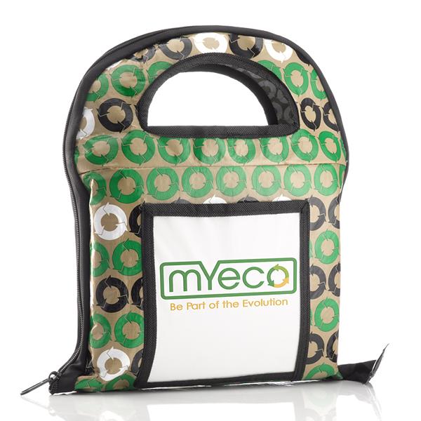 Organized reusable shopping bag set