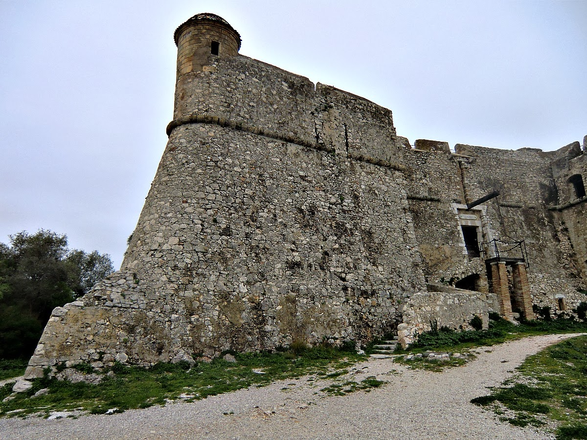 The Fortress on Mont Alban