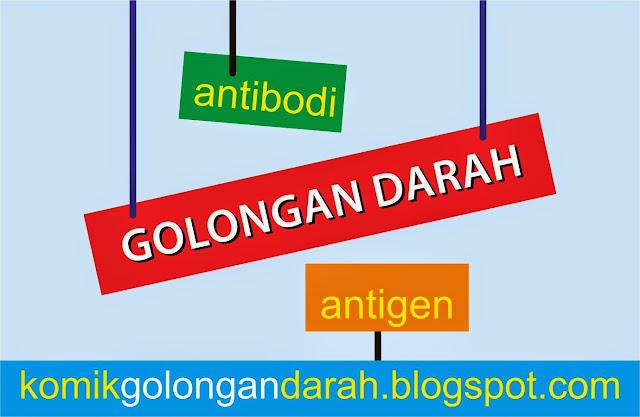 golongan darah antigen antibodi