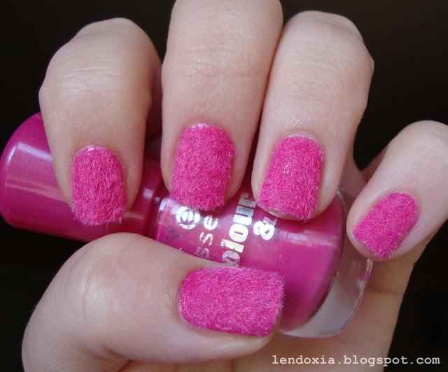roza flocking manikura