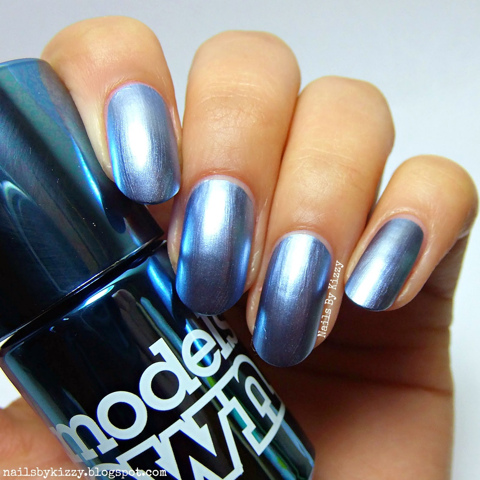 Nails By Kizzy: Models Own Colour Chrome Collection - Swatches & Review
