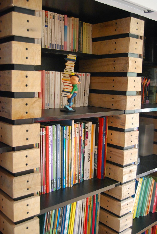 Relativ Rénovation de notre maison à Toulouse: Bibliothèque en planche de  GR79