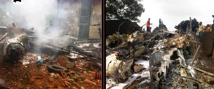 agagu son killed plane crash