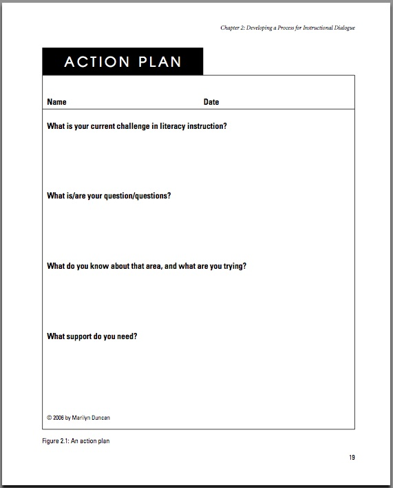 sample instructional plan for teachers