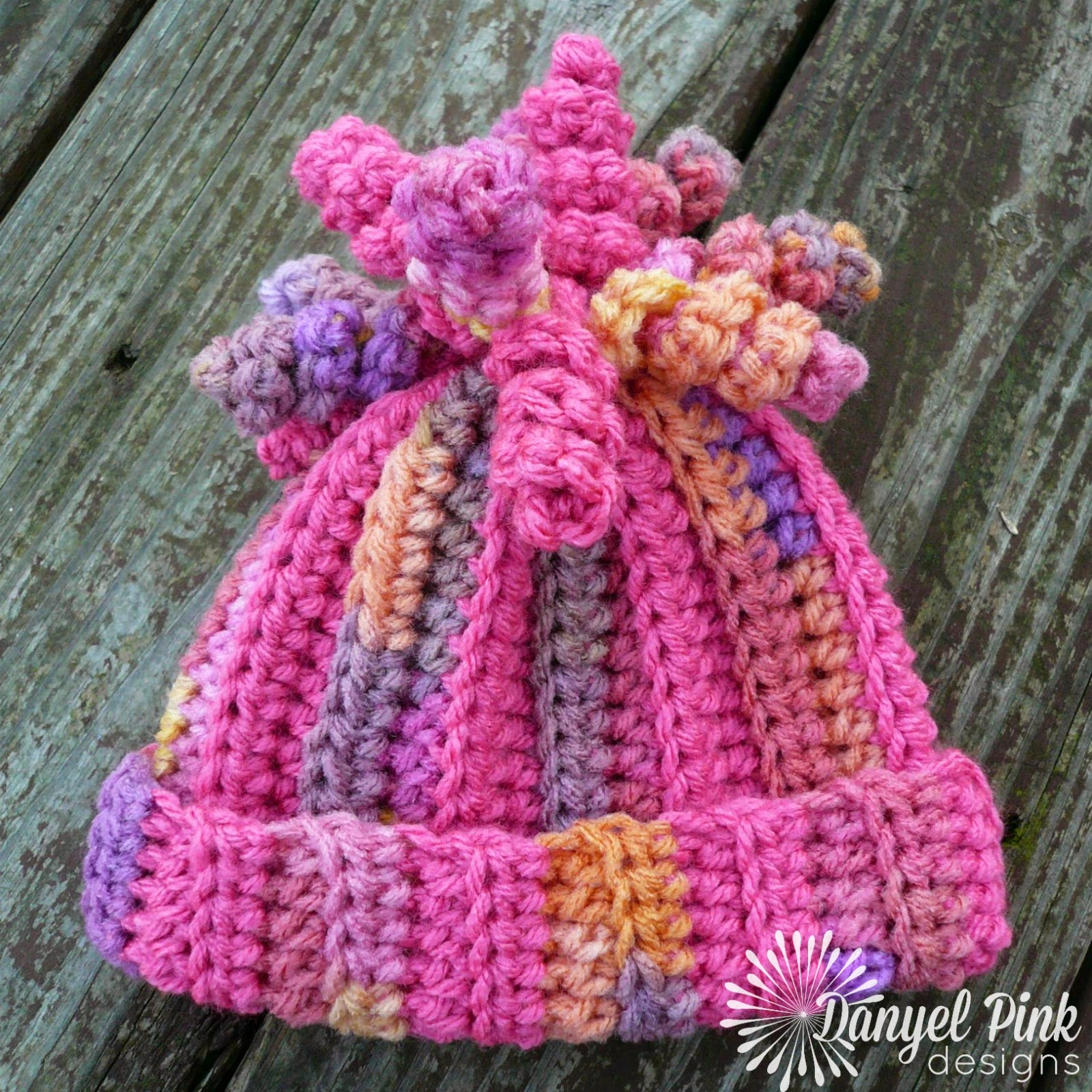 Danyel Pink Designs Crochet Pattern Delaney Hat