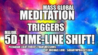 MICHAEL LOVE: DAS EVENT 2020 - DIE GLOBALE MEDITATION LÖSTE EINE GROSSE 5D VERSCHIEBUNG AUS