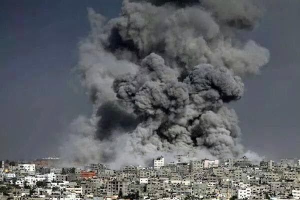 Penghancuran GAZA oleh Zionis Israel
