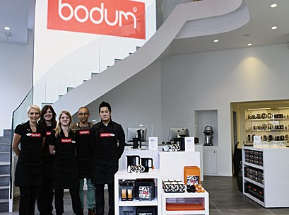 helen 39 s retail blog bodum has opened a new interactive. Black Bedroom Furniture Sets. Home Design Ideas