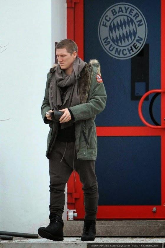Football Player's Fashion Style: Bastian Schweinsteiger Style