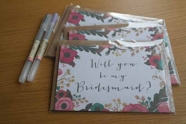 Will You Be My Bridesmaid Card by What Laura did Next