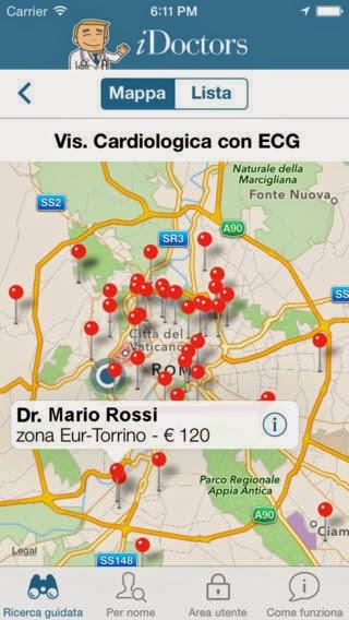 iDoctors.it – Trova il Medico e Prenota